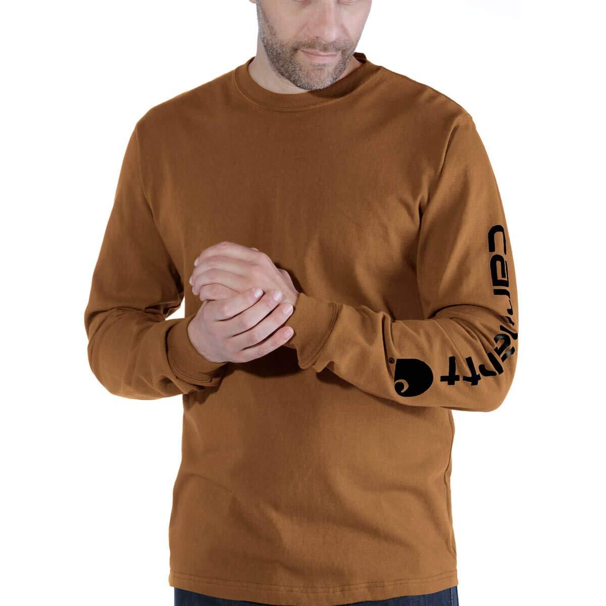 Carhartt T-Shirt Longsleeve Logo EK231