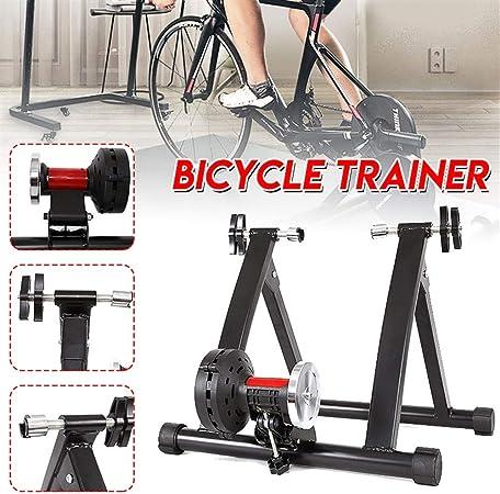 Plataforma Ciclismo interior Titular montar Plataforma bicicleta estática fitness soporte interior Trainer rodillo de aleación de aluminio de bicicletas inalámbrica Utilizar su bicicleta como una bici: Amazon.es: Hogar