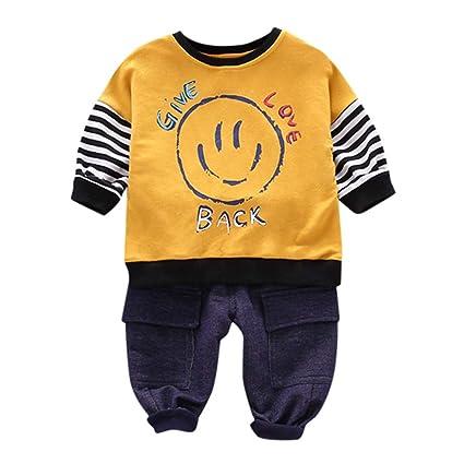 Amuse-MIUMIU - Conjunto de chándal para bebé de manga larga con ...