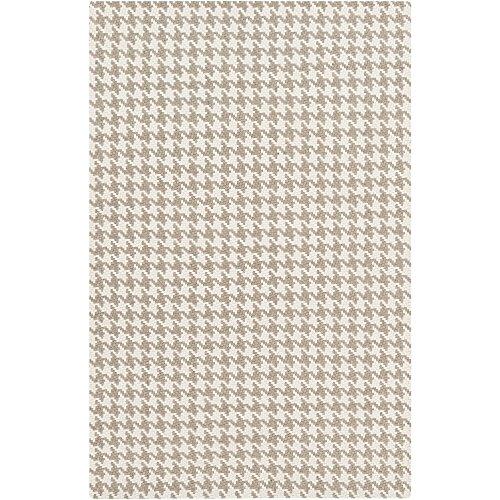 Surya Jigsaw JIG-1001 Hand Woven Felted Wool Natural Fiber Area Rug, 5-Feet by 8-Feet (Rug Jigsaw)