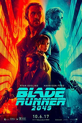 F-433 Blade Runner 2049 Movie Ryan Gosling Harrison Ford Art Film Poster 27x40