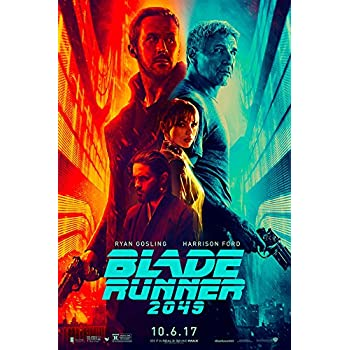 "BLADE RUNNER 2049 (Ryan Gosling, Harrison Ford) IMAX - Movie Poster - Size 11""x17"""