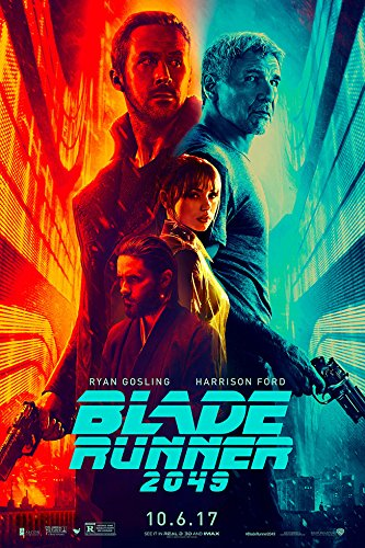 BLADE RUNNER 2049 (Ryan Gosling, Harrison Ford) IMAX - Movie Poster - Size 24
