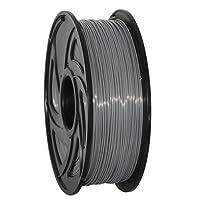 GEEETECH Filament PLA 1.75mm Imprimante 3D Filament PLA pour Imprimante 3D, 1kg Spool, Gris