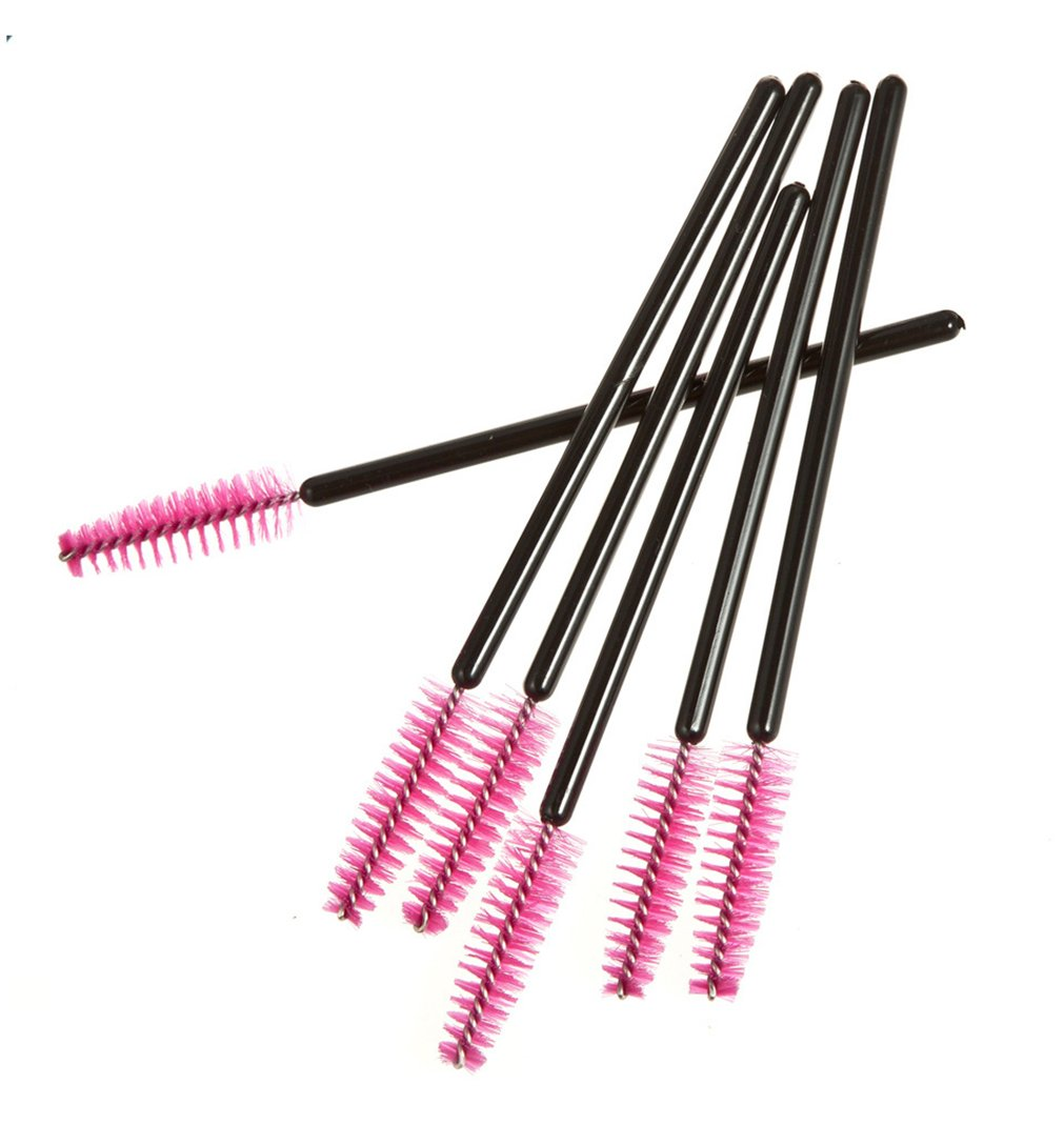 Amazon.com: Pure Vie 100 Pieces Disposable Mascara Wands Eyelash Brushes Makeup Applicators Kit, 1: Beauty