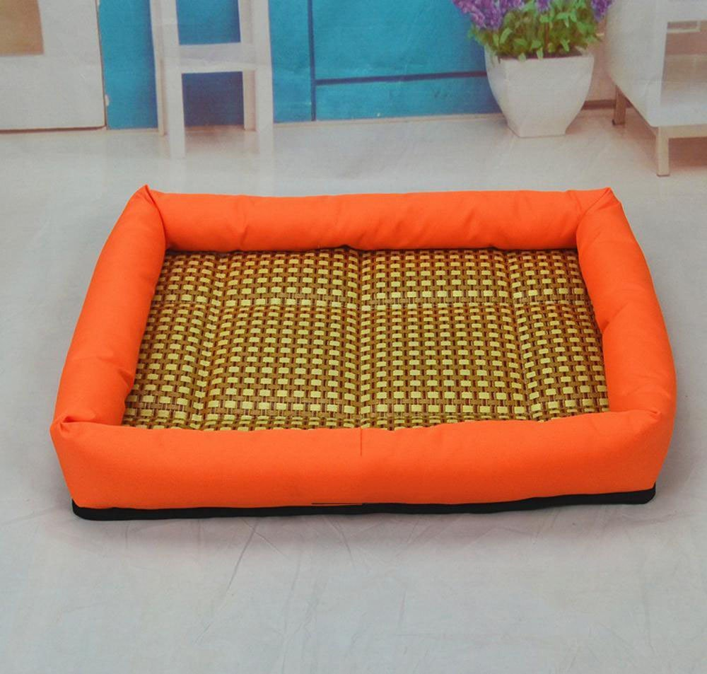 C 50x40x7cm C 50x40x7cm Lozse Pet Beds Pet Nest Dog Mat cushion Comfort Kennel Oxford cloth washable for Dogs and Cats Sleeping Cushion