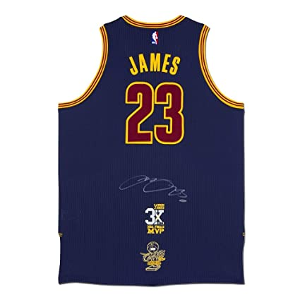 quality design b9deb e1fcc LeBron James Autographed Cleveland Cavaliers Authentic ...