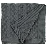 #10: Stone & Beam Transitional Chunky Cable Knit Throw