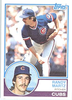 Topps 1983 Baseball Card#22 Randy Martz Expédié dans le Chicago Cubs