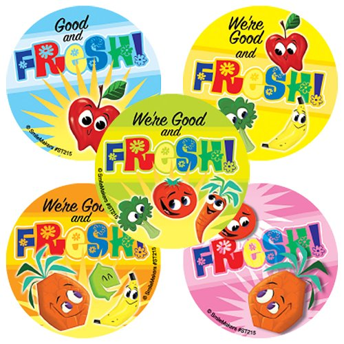 fruit and vegetable stickers - 6