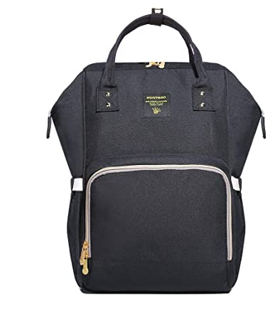 21288b8267e43 Buy Sunveno Mummy Maternity Nappy Bag Brand Large Capacity Baby Bag Travel Backpack  Nursing Bag for Baby Care Black Online at Low Prices in India - Amazon. ...