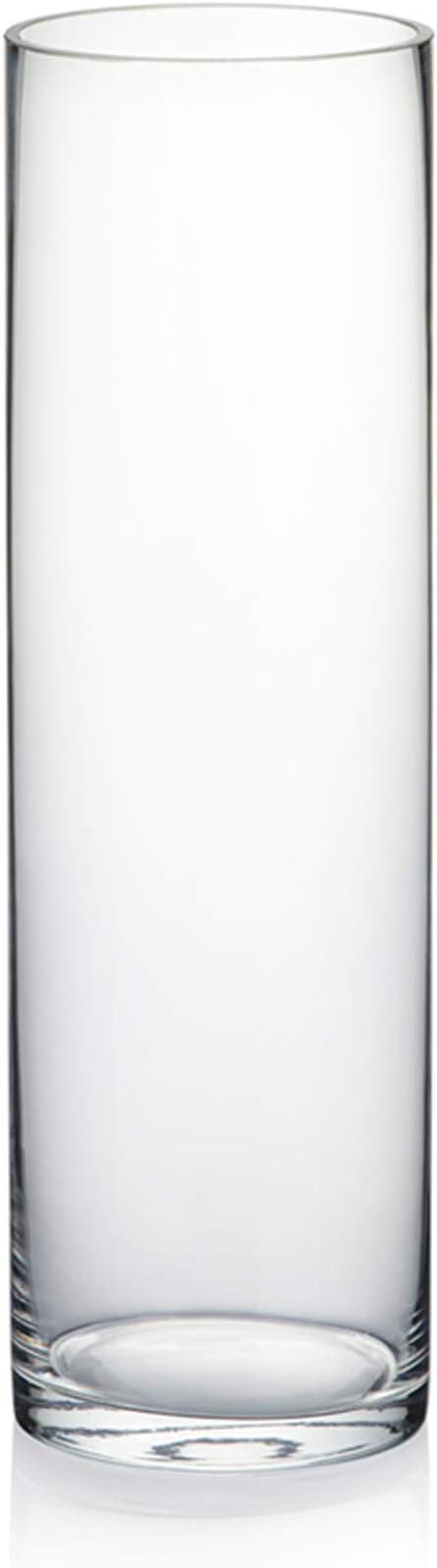 dekoglas 10cm 10x10cm Transparent hakbijl Tealight Holder Vase Dice Cube H