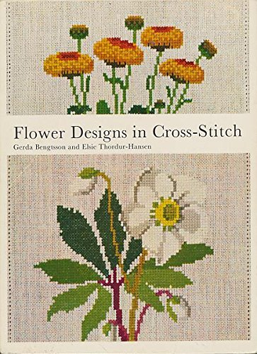 Flower Design in Cross Stitch (A Reinhold
