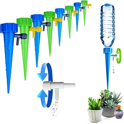 Automatic Drip Irrigation System Plant Waterer Self Watering Spike Drip Watering
