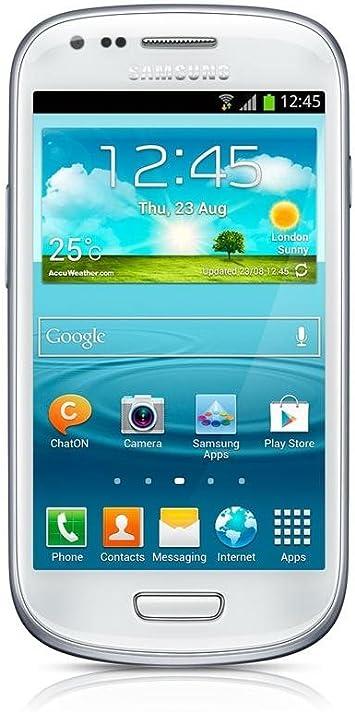 Samsung Galaxy S3 Mini i8200 - Smartphone libre Android (pantalla ...