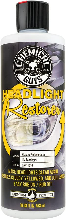 Amazon.com: Chemical Guys GAP11516 Headlight Restore and Protect, 16 fl. oz, 1 Pack: Automotive