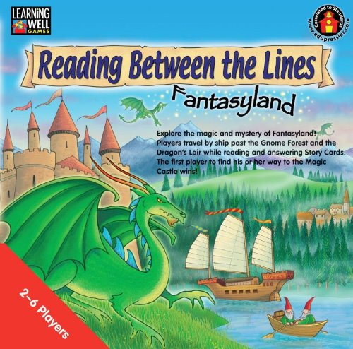 Learning Well Reading Between the Lines, Fantasyland, Reading Red Level 2.0 to 3.5