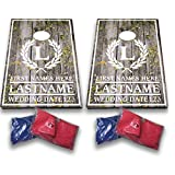 Custom Wedding Bag Toss Game – Custom Wedding Cornhole - Laurel and Initial