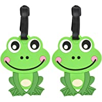 Animal Luggage Tags Cute Suitcase Labels (Set of 2)