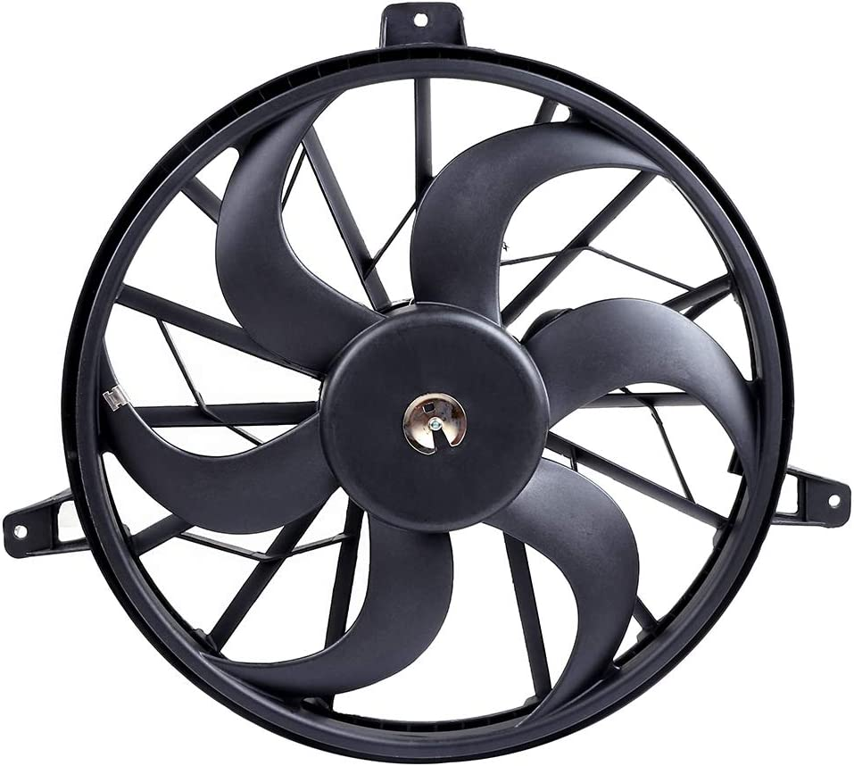 SCITOO Radiator Cooling Fan Compatible with 1999-2003 Jeep Grand Cherokee 2002 2003 Jeep Liberty