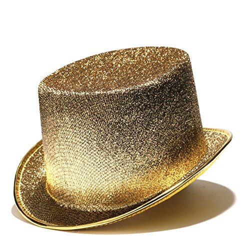 Gold Top Hat (Gold Glitter Top Hat)