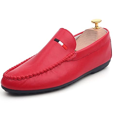Zapatos de hombre PU Primavera Otoño Moda Mocasín Comfort Mocasines y Slip-Ons Ruffles para