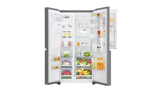 Aeg Kühlschrank Handbuch : Lg electronics gsj 760 pzuz side by side kühlschrank a 376 kwh