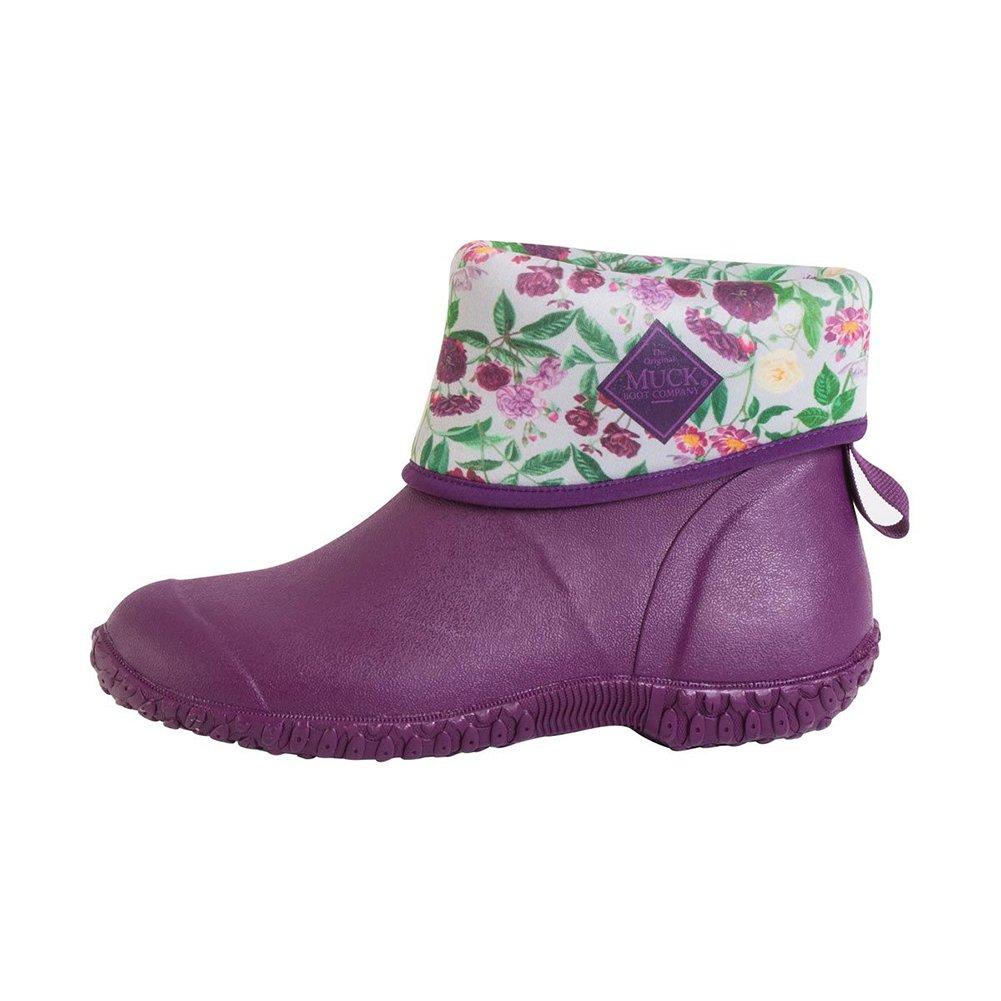 Muck Boot Women's Muckster 2 Mid Snow B077TNZM87 7 M US|Black, Purple