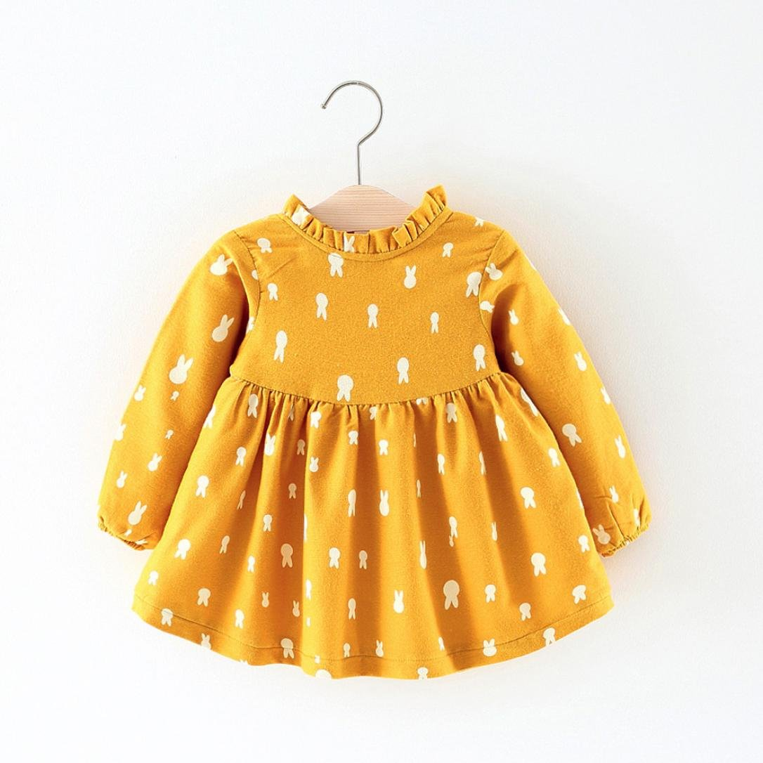 Xinan Ropa de Dibujos Animados de beb/és reci/én Nacidos Vestido de la Princesa Caliente Trajes de Chaleco Conjunto de Ropa 0-24 Mes Abrigos Beb/é