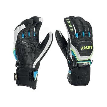1efdefa46601cb Leki Herren 634-80133 Skihandschuhe Worldcup Race Coach Flex S GTX cyan - 7