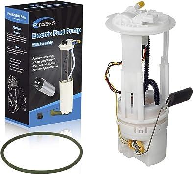 2005 dakota fuel filter amazon com powerco electric fuel pump module assembly e7198m  powerco electric fuel pump module