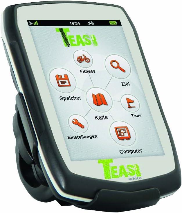 Teasi one - Navegador GPS para Bicicleta y Senderismo Blanco ...