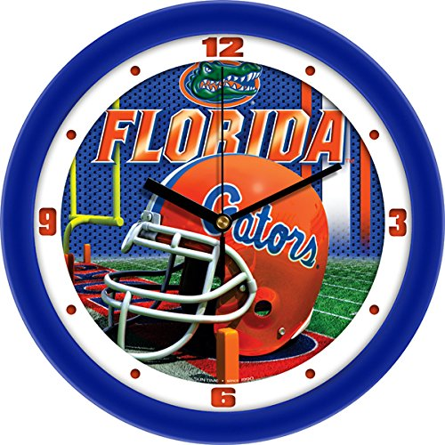 SunTime NCAA Florida Gators Helmet Wall Clock