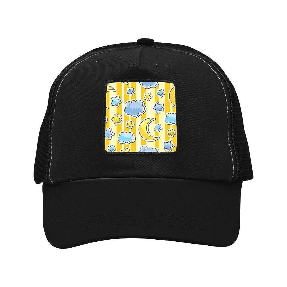 Nichildshoes hat Adult Mesh Cap Hat Adjustable for Men Women Unisex,Print Goodnight