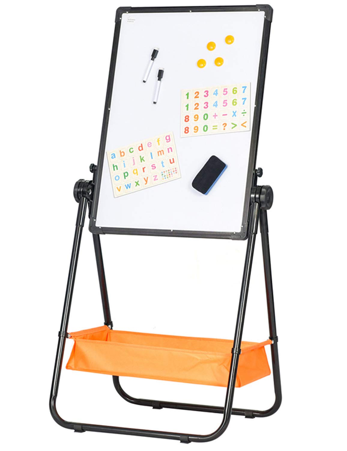BuyHive Magnetic Kids Whiteboard U-Stand Dry Erase Mark Board Double Sided Office School Commertcial Use