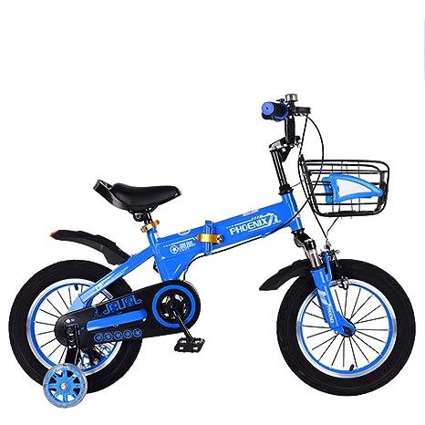 TSDS Bicicleta Infantil Bicicleta de montaña de 16 Pulgadas al ...