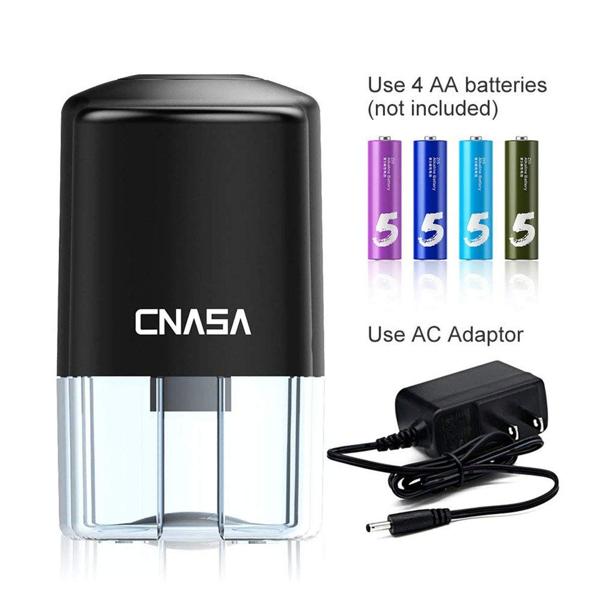 Automatic Electrical Sharpener for NO.2 Pencils and Colored Pencils,Portable Electric Sharpener by CNASA (Image #3)