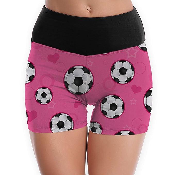 Amazon.com: Pantalones cortos de yoga para mujer, diseño de ...