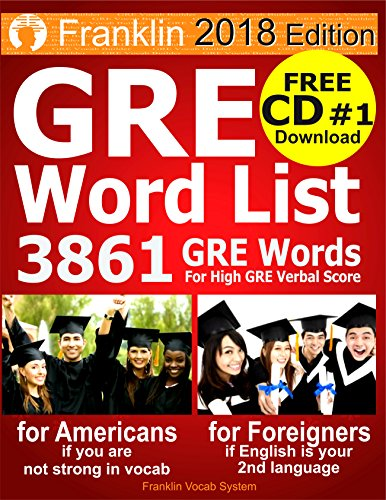 2018 GRE Word List: 3861 GRE Words For High GRE Verbal Score