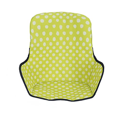 Baby Kids Highchair Insert Infant Toddler Dining Chair Seat Cushion Foldable Waterproof (Green)