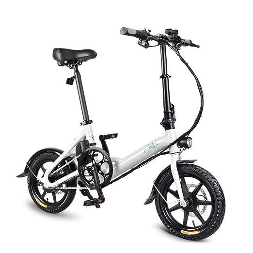 popchilli FIIDO D3 Bicicleta Plegable Eléctrica Ligera para ...
