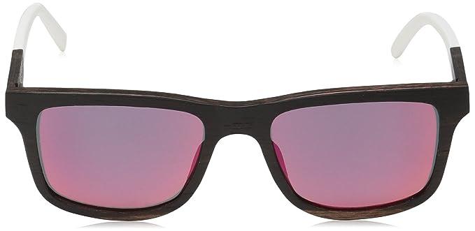 f099a28b5 Earth Wood Tide Sunglasses Polarized Wayfarer, Espresso//Redyellow, 51 mm  1: Amazon.in: Clothing & Accessories