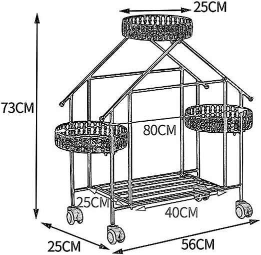 soporte de jardiner/ía de 1,97 pies con revestimiento de pl/ástico para plantas 24 unidades F.O.T Estacas de jard/ín de metal resistente
