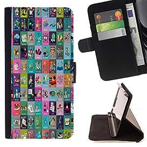 King Case - FOR HTC One M7 - there is no life - Prima caja de la PU billetera de cuero con ranuras para tarjetas, efectivo Compartimiento desmontable y correa para la mu?eca