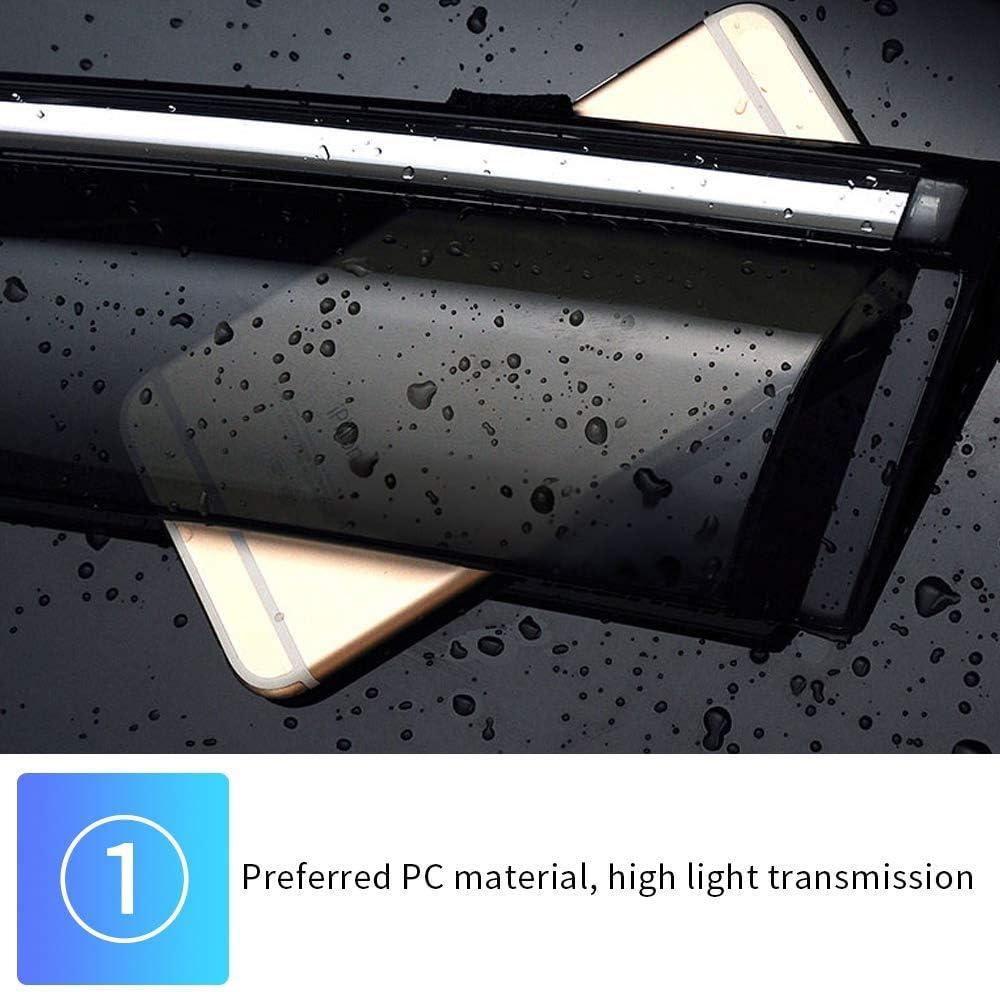 Tuqiang Side Window Deflector for V olvo XC60 2009-2017 Original Window Visors Sun Rain Guard 4Pcs