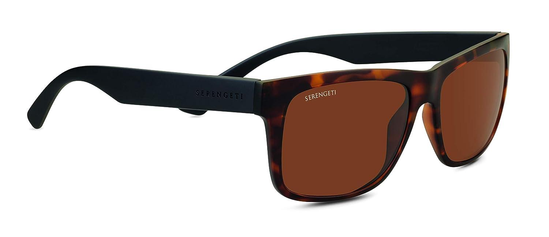 Serengeti Positano Gafas, Unisex Adulto, marrón (Sanded Dark tort), M: Amazon.es: Deportes y aire libre