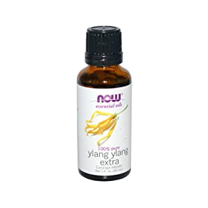 Now Essential Oils, Ylang Ylang Extra Oil, Comforting Aromatherapy Scent, Steam Distilled, 100% Pure, Vegan, 1-Ounce