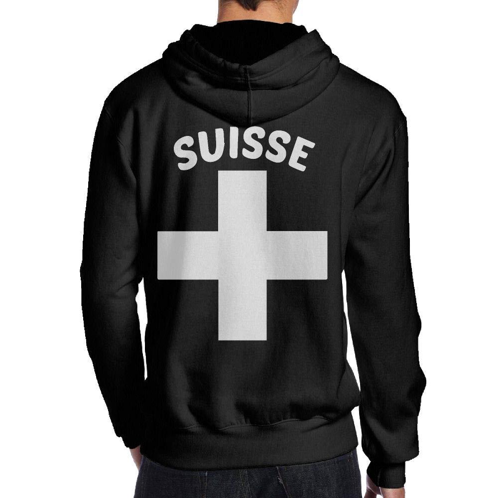 JHDKDGH-N Swiss Pride Back Print Long-Sleeved Hoody Man