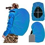 Joy Walker Waterproof Backpack Rain Cover for (15-90L), Upgraded Anti-Slip Cross Buckle Straps, Triple Strengthened…
