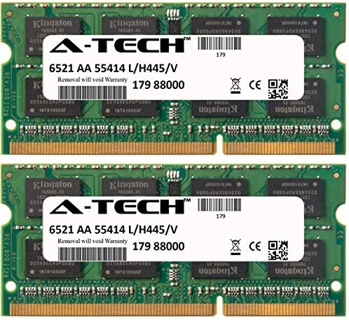 A665-S6058 A29 8GB 2X4GB RAM MEMORY 4 Toshiba Satellite A665-S6056 A665-S6057